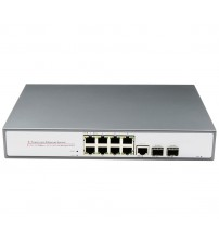 10-Port 10/100Mbps PoE Switch with Combo Port (250W) (POE108FAT)